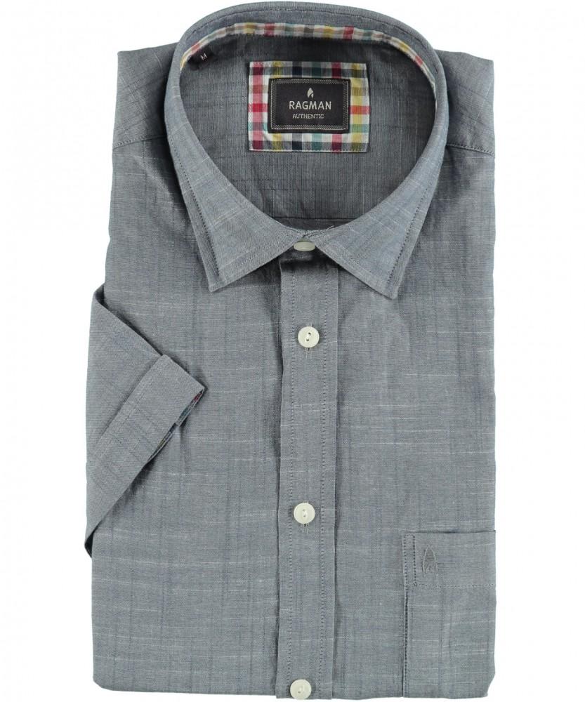 ragman onlineshop ragman hemd mit kent kragen. Black Bedroom Furniture Sets. Home Design Ideas