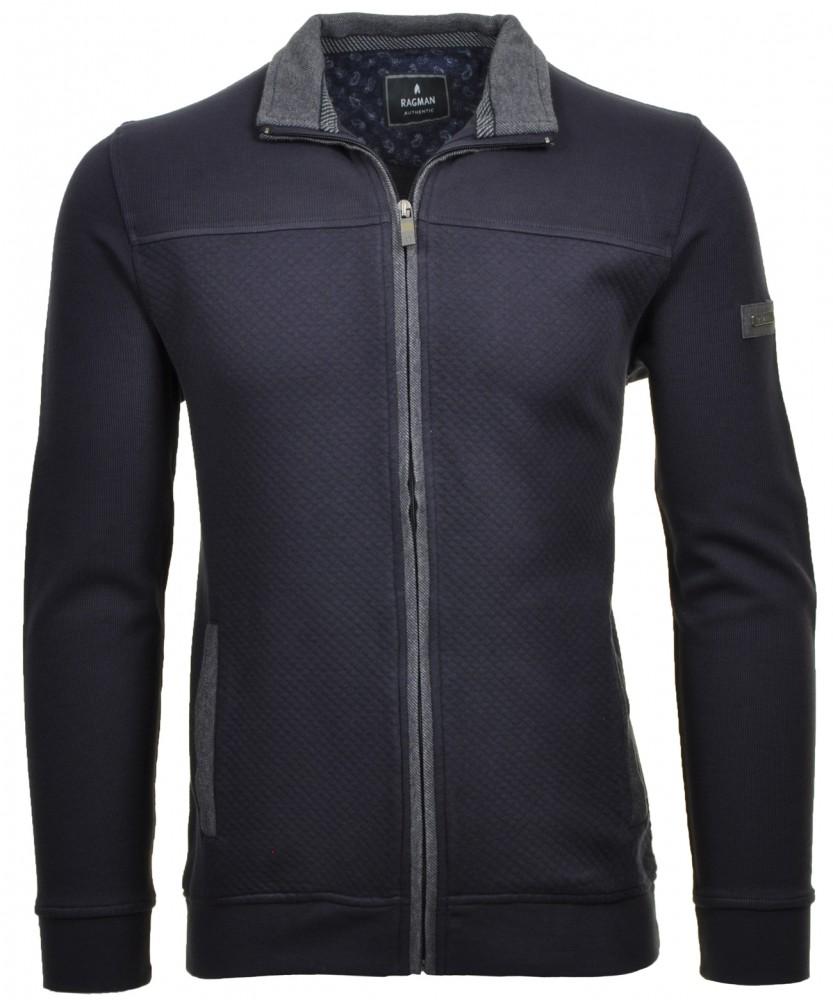 Sweatshirt Jacke Marine-070 | XL