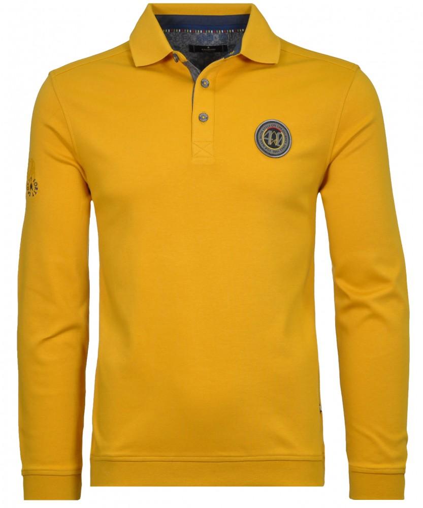 Sweatshirt mit Polokragen Mais-521 | L