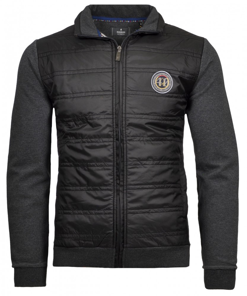 Jacket with stand up collar Anthracite-019 | M