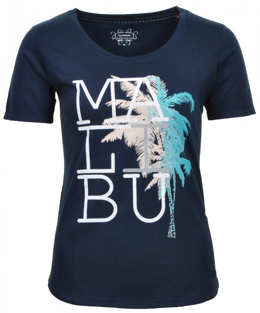 RAGWOMAN T-Shirt Malibu Dark Blue-711 | XS