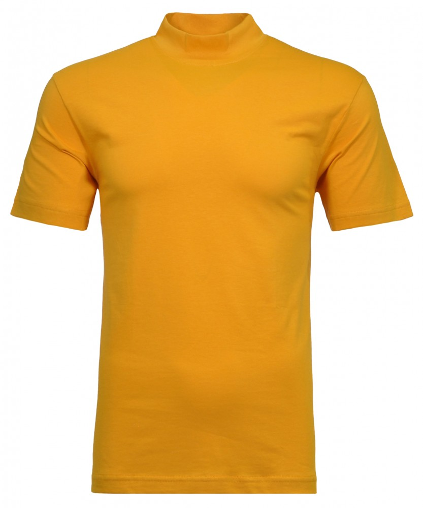T-Shirt with mock neck
