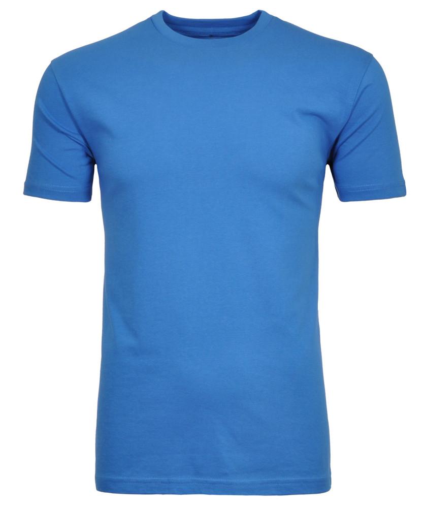 RAGMAN T-Shirt Rundhals Singlepack Blau-718   S