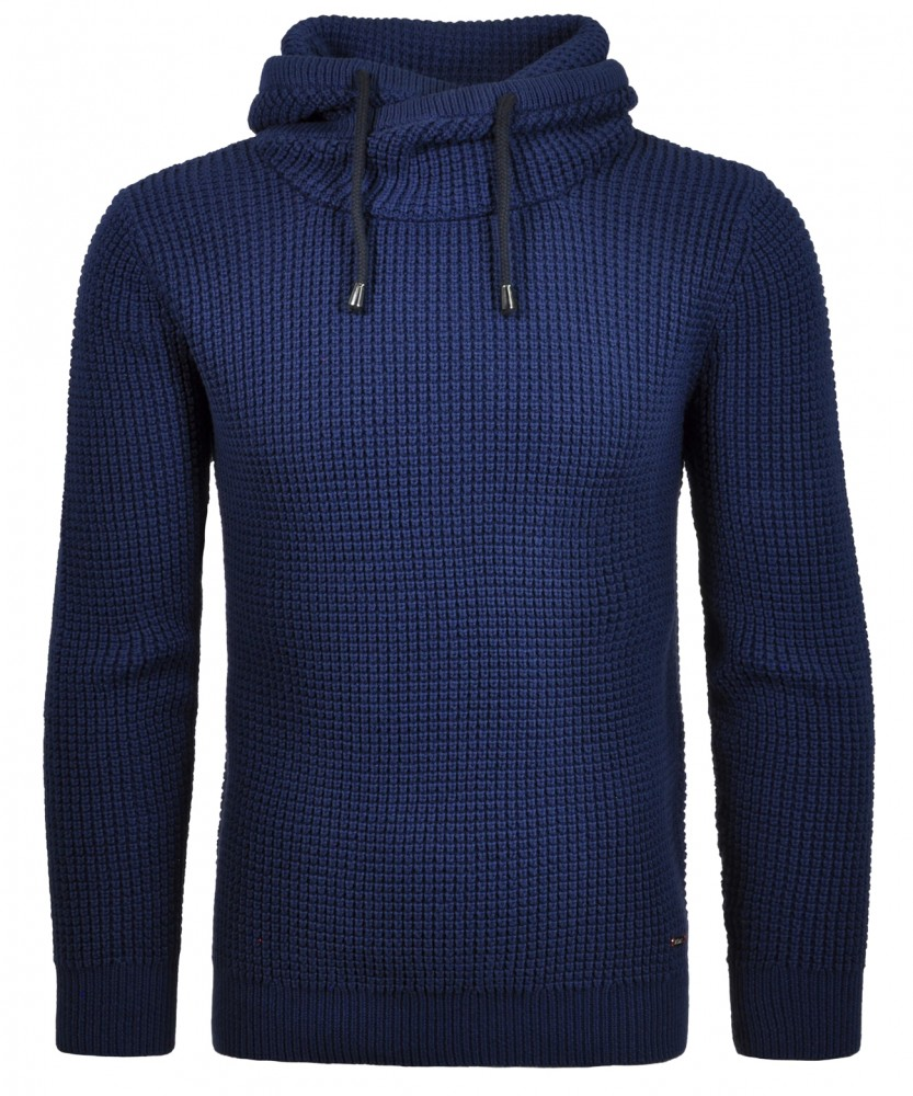 RAGMAN Rollkragen-Pullover Mittelblau-780 | XXL