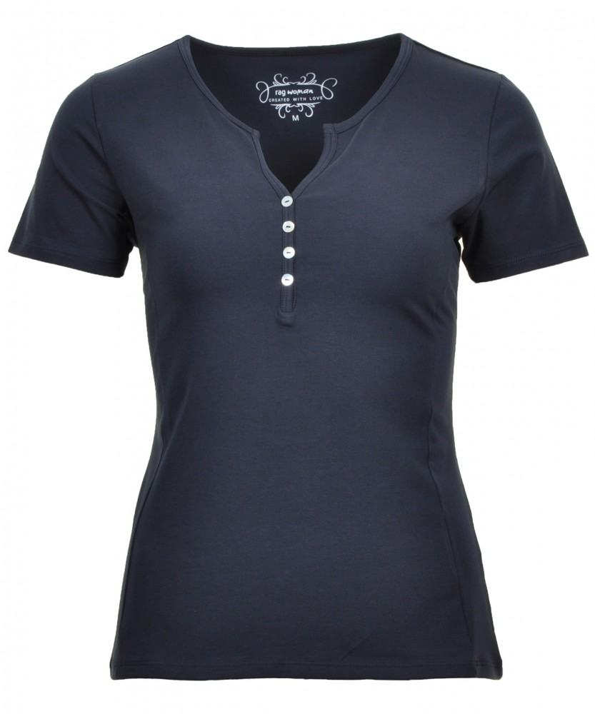 RAGWOMAN T-Shirt Dark Blue-711   XS