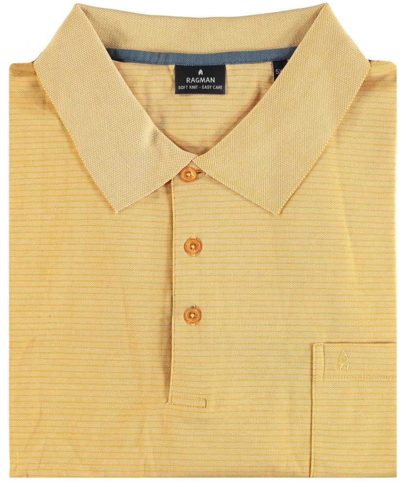 Poloshirt fineliner Gelb-056 | M