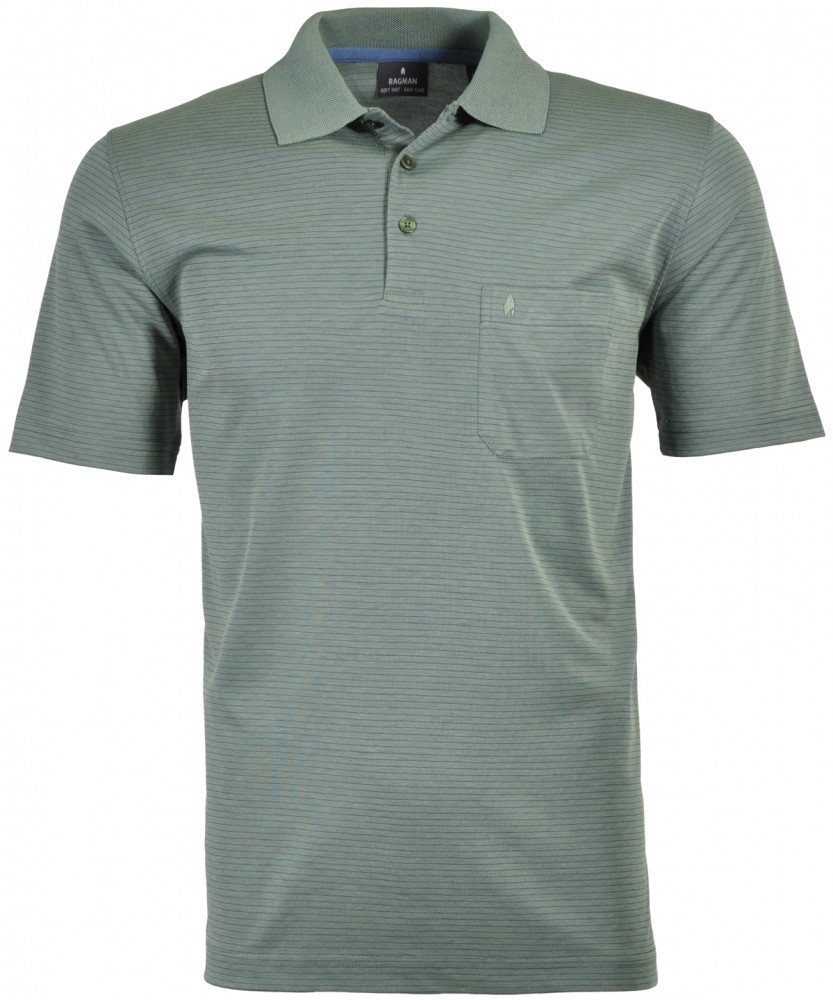 Poloshirt fineliner Schilf-341 | S