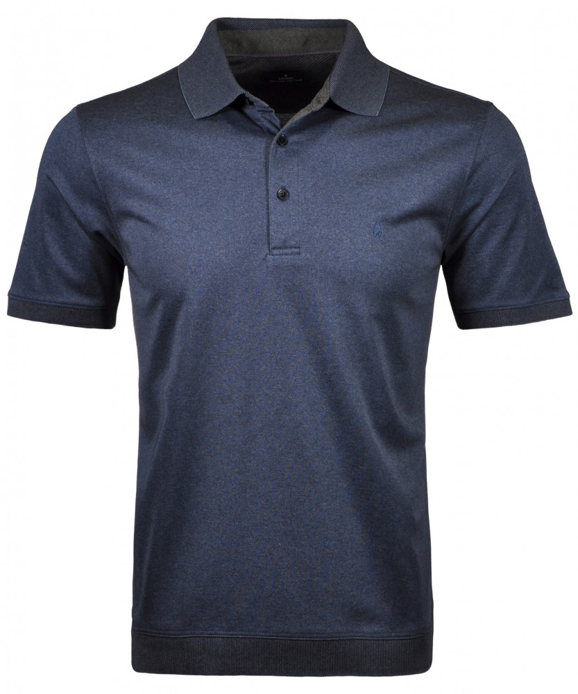 Softknit Poloshirt mit Bund