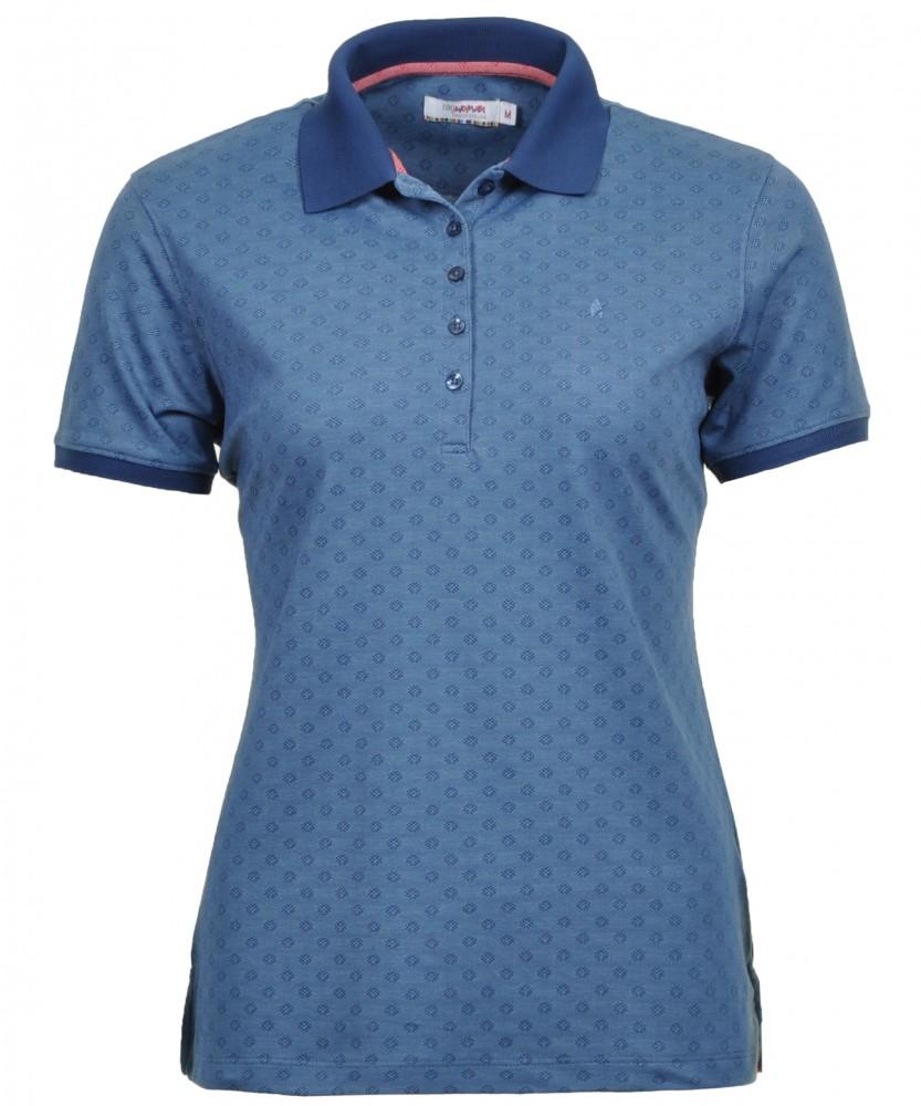 RAGWOMAN Poloshirt Middle blue-780 | XS