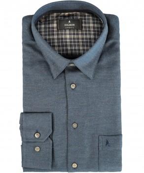 Uni Langarm-Hemd