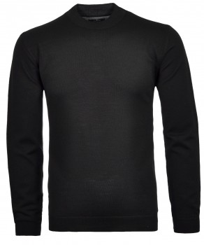 RAGMAN Sweater with stand up collar