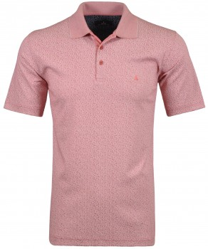 Softknit Polo button with flower print