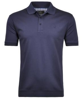 RAGMAN Piqué-Poloshirt gestreift
