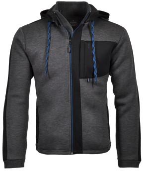 RAGMAN Sweat-Jacke mit Kapuze