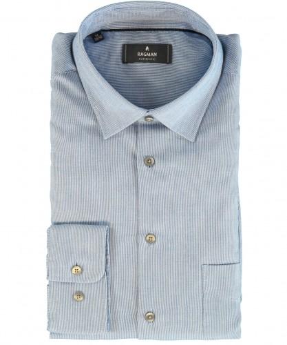 Casual shirt with kent collar