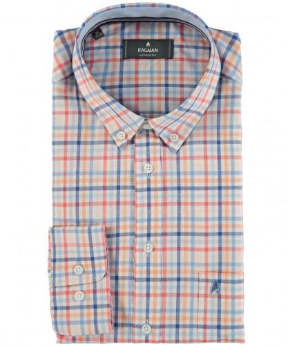 Hemd mit Button Down-Kragen