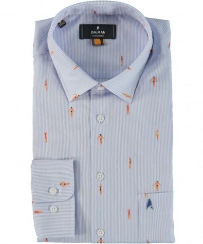 Hemd mit modischem Print