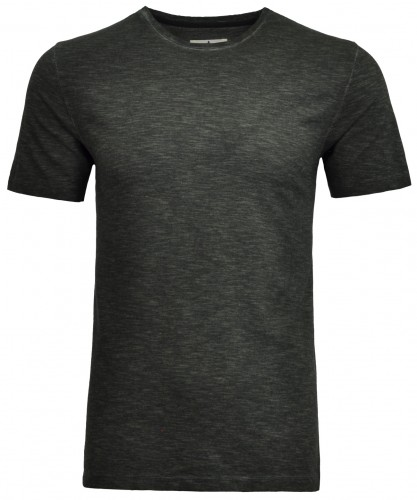 T-shirt round neck pin stripe BioRe Cotton
