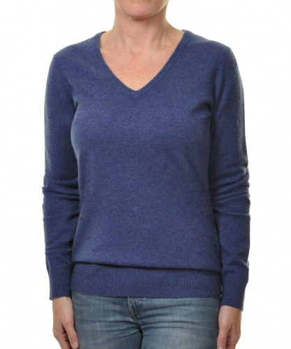 RAGWOMAN Cashmere Sweater with V-Neck