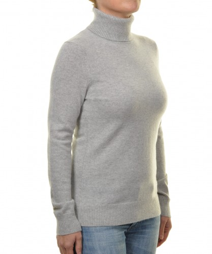 RAGWOMAN Cashmere Sweater with Turtleneck