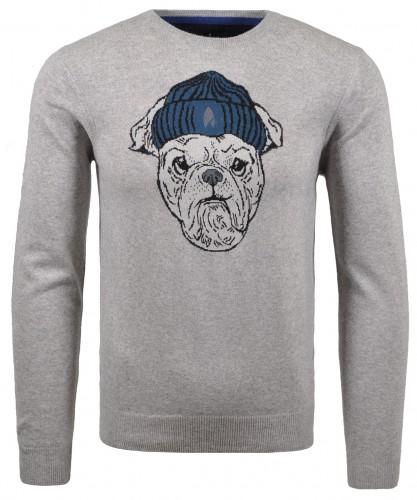 Pullover mit Ragman-Mops