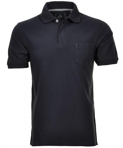 Poloshirt Piqué Marine-070