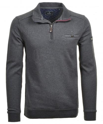Ragman Sweatshirt mit Brusttasche