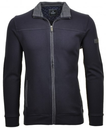 Cardigan zip sweat