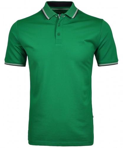 Uni-Poloshirt mit Tipping Electric