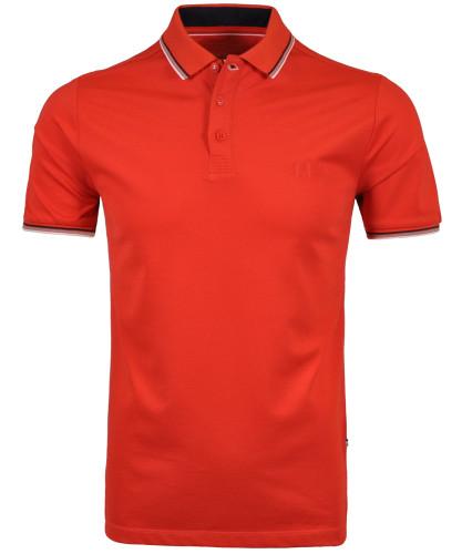 Uni-Poloshirt mit Tipping Peperoni-613