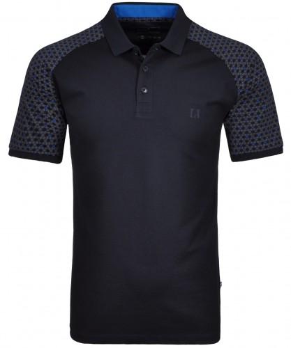 RAGMAN Poloshirt mit Arm-Print