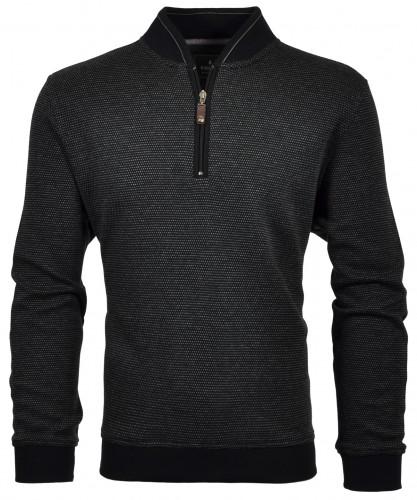 RAGMAN Jacquard-Sweater with zip
