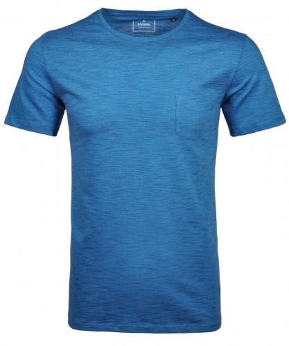 T-Shirt Rundhals mit Brusttasche