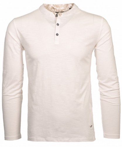 Henley-Shirt long sleeve