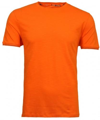 T-shirt round neck solid