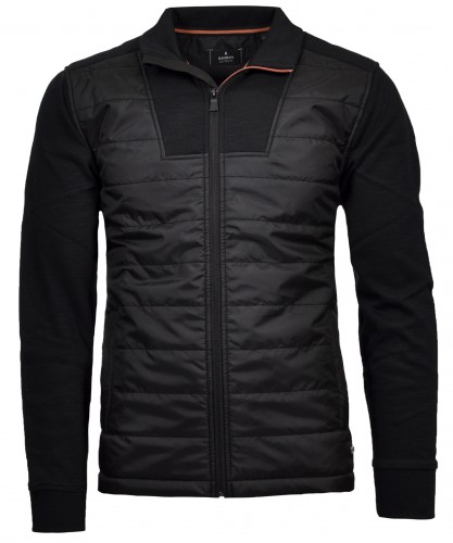 Sweatjacket Zipper with nylon and pockets