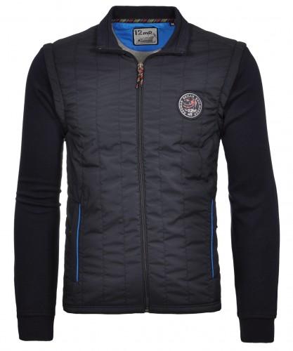 RAGMAN Sweat-Jacke mit abnehmbaren Ärmeln