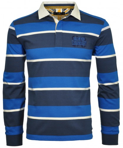 Jersey-Polo with stripes