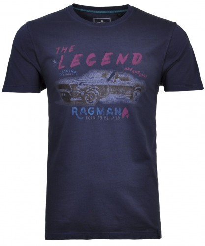 T-Shirt round neck print