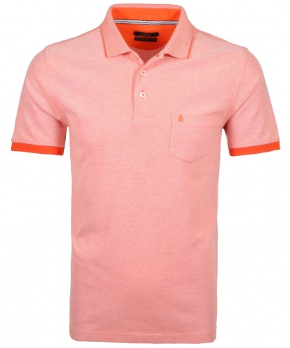 Poloshirt mit Brusttasche Rot