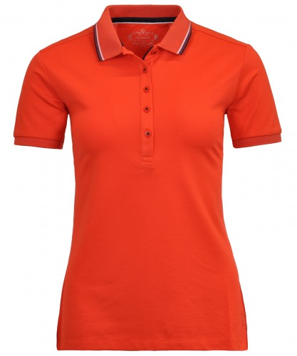 RAGWOMAN Poloshirt mit Tipping