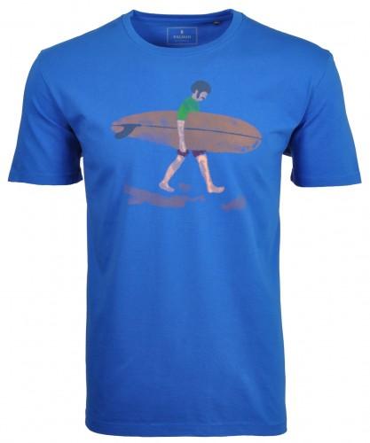 T-Shirt Vintage mit Print