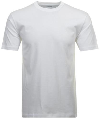 RAGMAN Doppelpack - 2 T-Shirts mit Rundhals Weiss-006