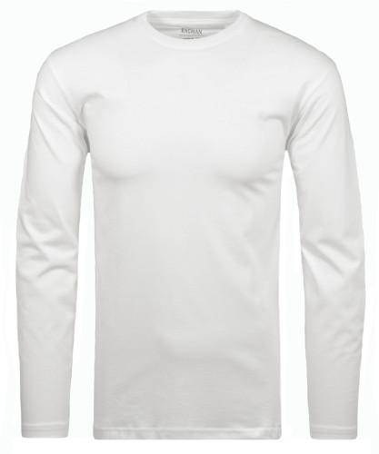 Langarm Shirt Weiss-006