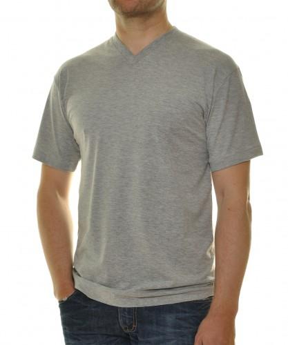 2 T-Shirts im Doppelpack mit V-Ausschnitt