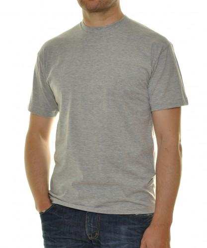 T-Shirt Singlepack Grau-Melange-012