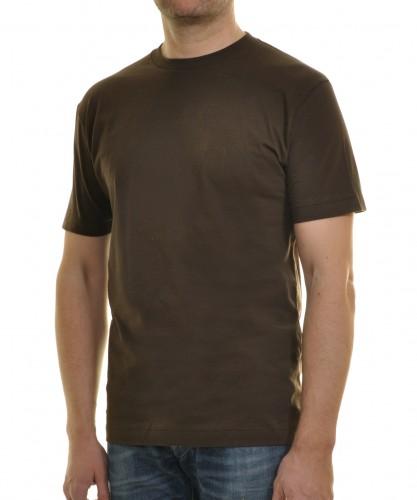 T-Shirt Singlepack Braun-080
