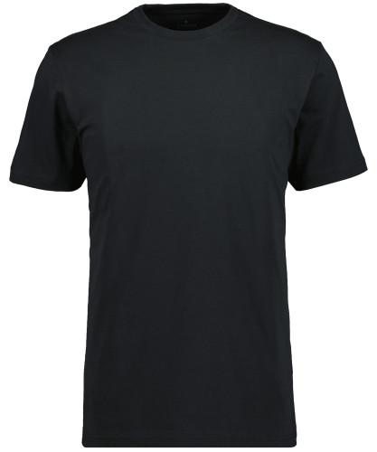 RAGMAN T-Shirt Rundhals Singlepack Schwarz-009