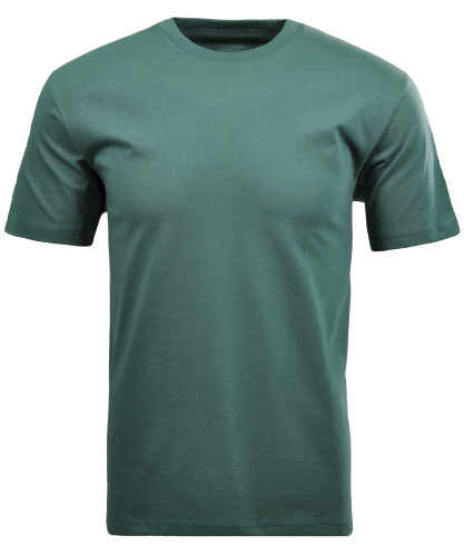 RAGMAN T-Shirt rundhals Singlepack Moosgrün-322