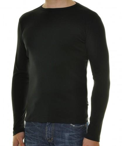 Langarm Shirt 1x1 Rippe